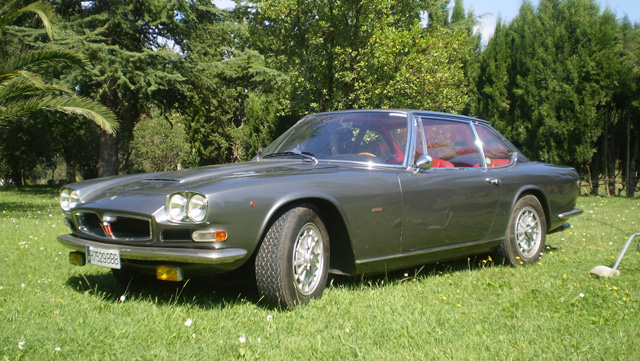 Maserati Mexico Frua one off